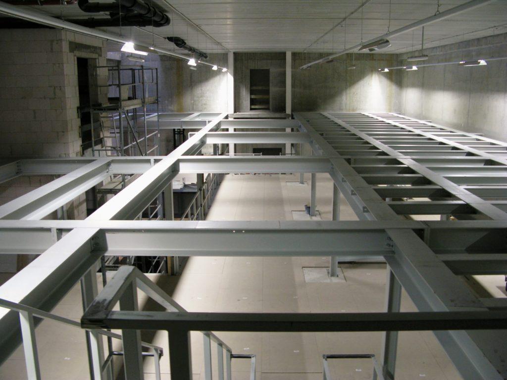 Der Bau des Magazins am neuen Standort in Golm