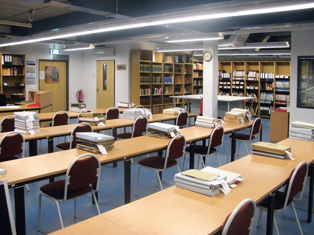 Der Lesesaal am Standort Potsdam-Bornim