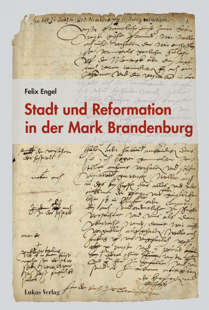 """Buchcover """"Stadt und Reformation in der Mark Brandenburg"""""""