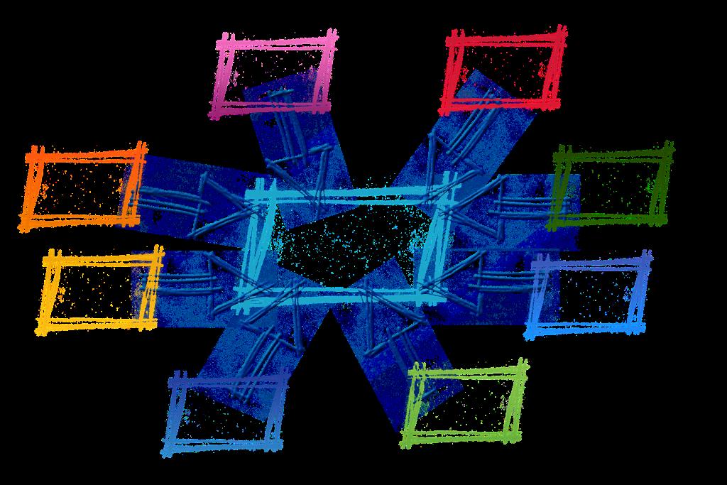 Symbolbild Arbeiten im Verbund