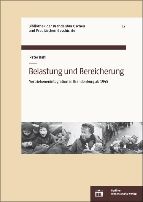 """Buchcover """"Belastung und Bereicherung"""""""