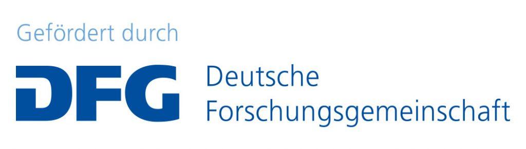 Logo der Deutschen Forschungsgemeinschaft